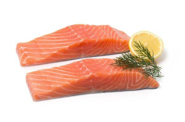 Salmon - Cornish fishmonger