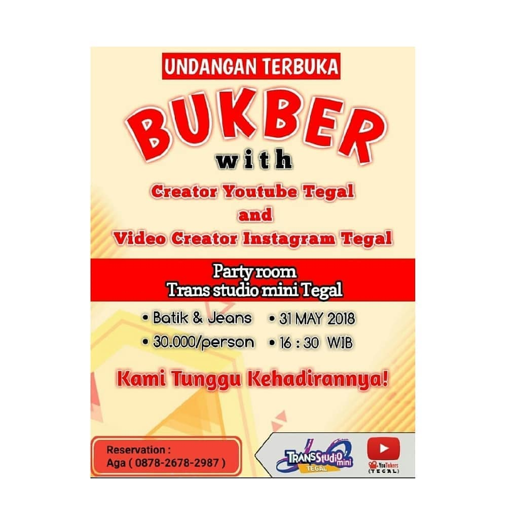 Bukber With Creator Youtube & Creator Instagram Tegal
