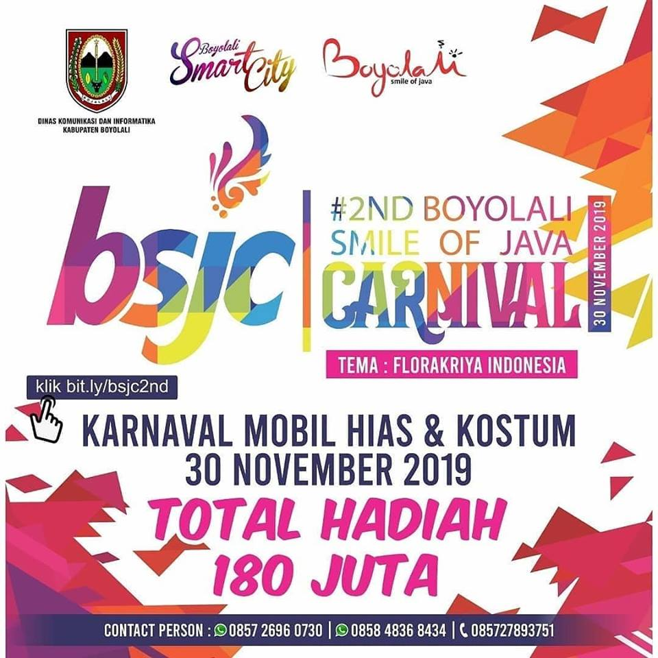 2nd Boyolali Smile Of Java Carnival