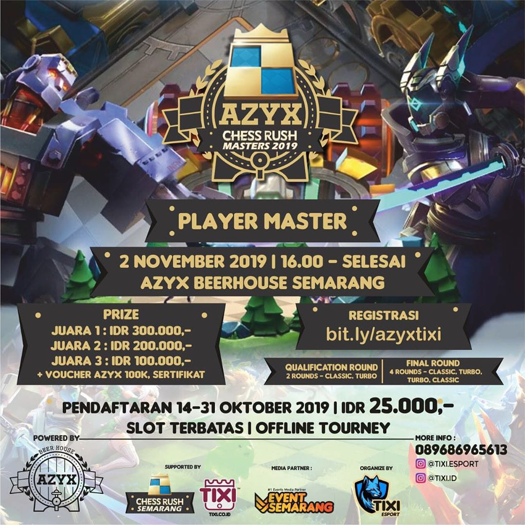 Azyx Chess Rush Masters 2019