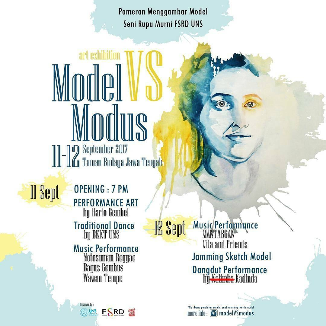 ART EXHIBITION, MODEL VS MODUS