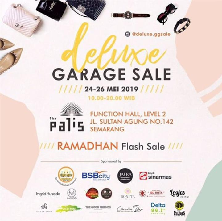 Event Semarang : Deluxe Garage Sale