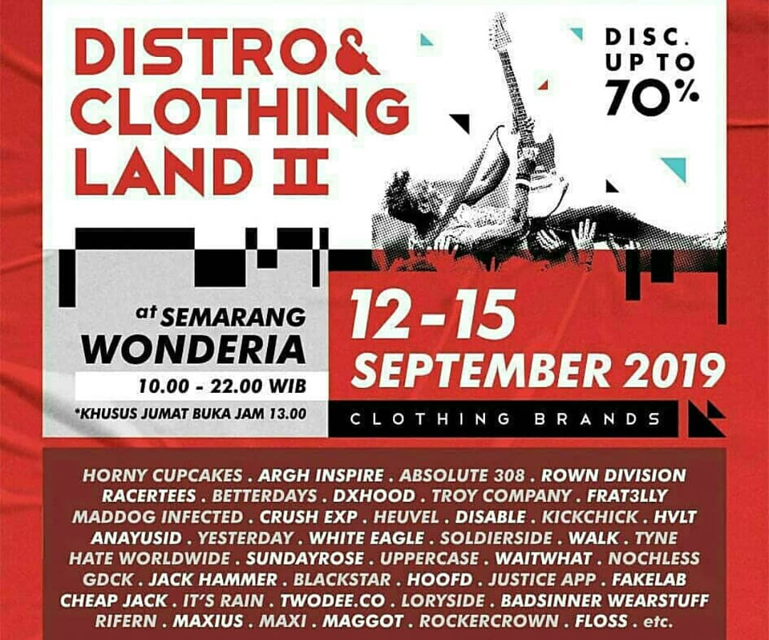 DISTRO AND CLOTHING LAND II