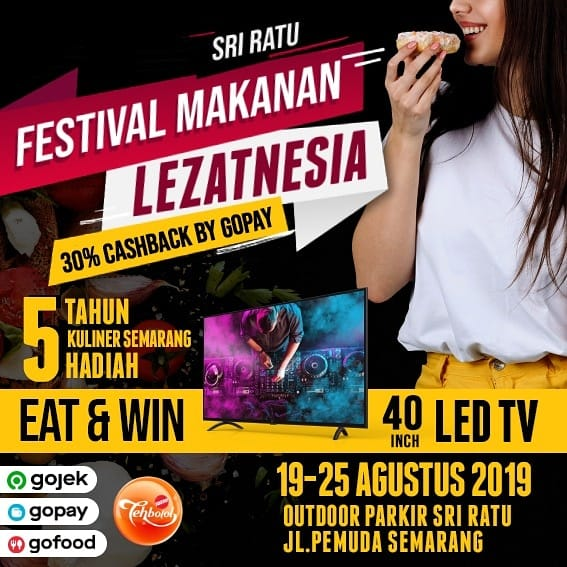 Eat And Win Led T V 40 Inch Di Festival Makanan Lezatnesia