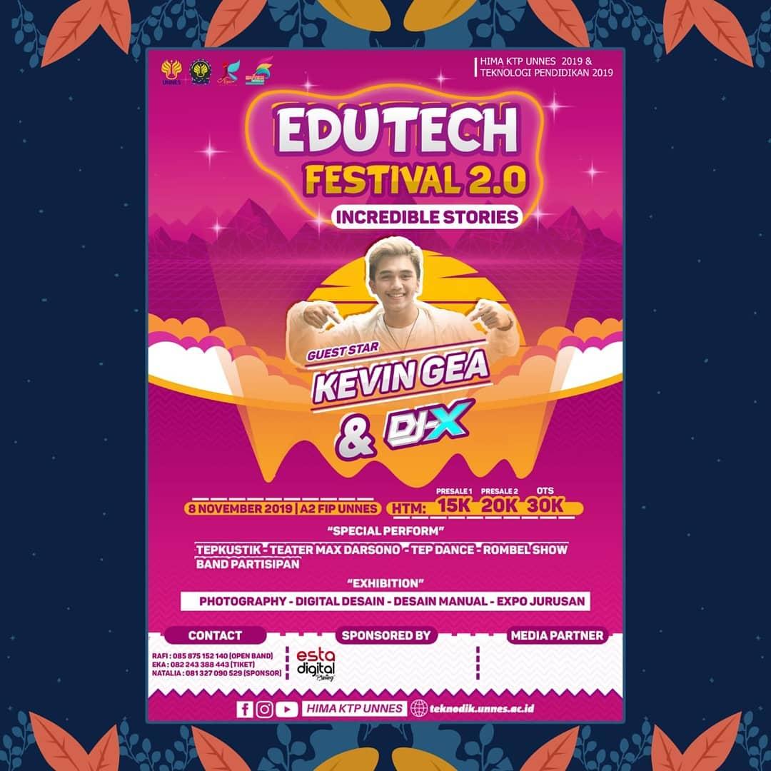Teknologi Pendidikan Proudly Present Edutech Festival 2.0