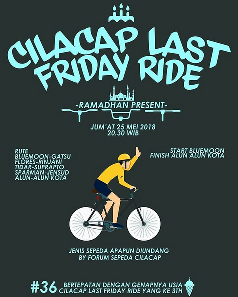 Event Cilacap-cilacap Last Friday Ride