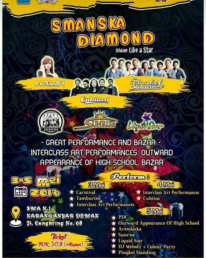 Event Demak - Smanska Diamond