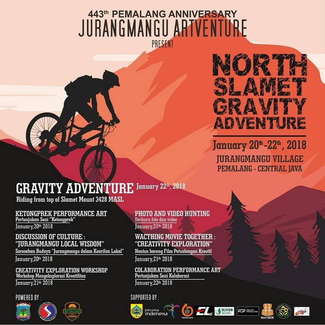 Event Gravity Adventure Pemalang