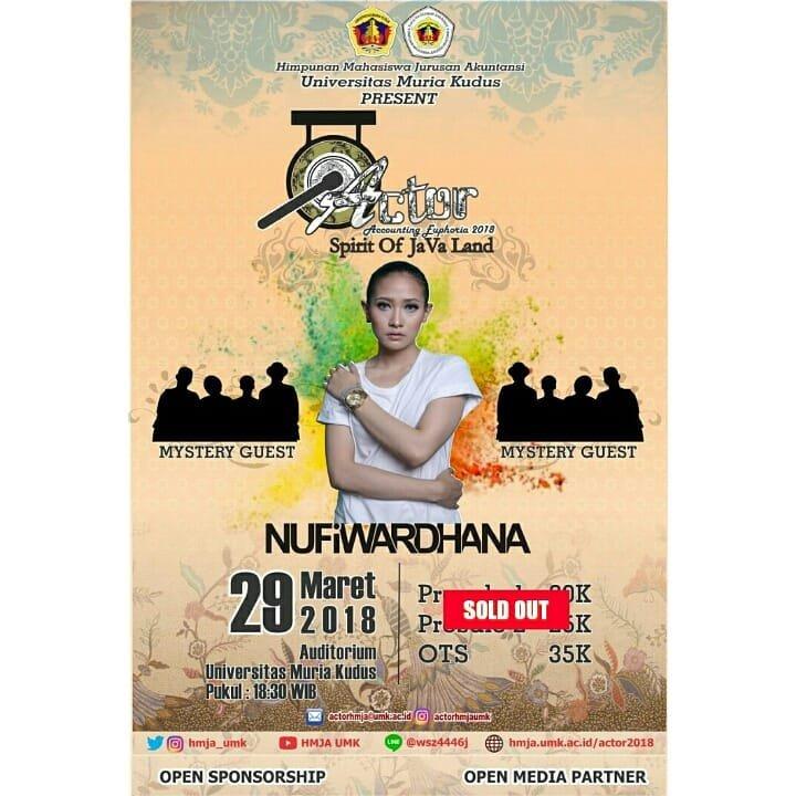 Event Kudus - Actor (accounting Euphoria 2018)