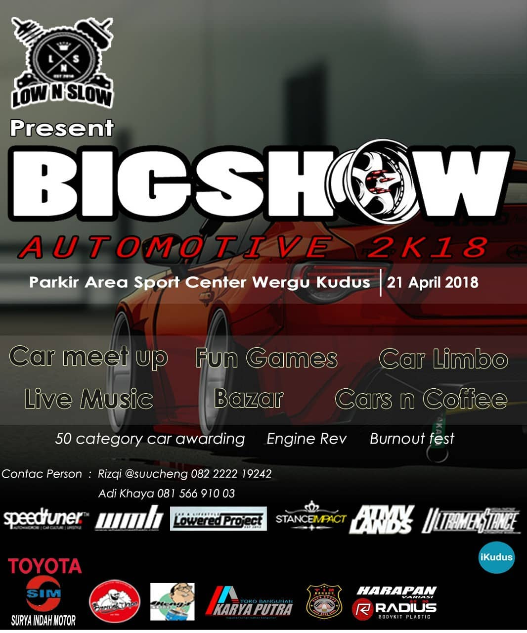 EVENT KUDUS - BIGSHOW AUTOMOTIVE 2K18