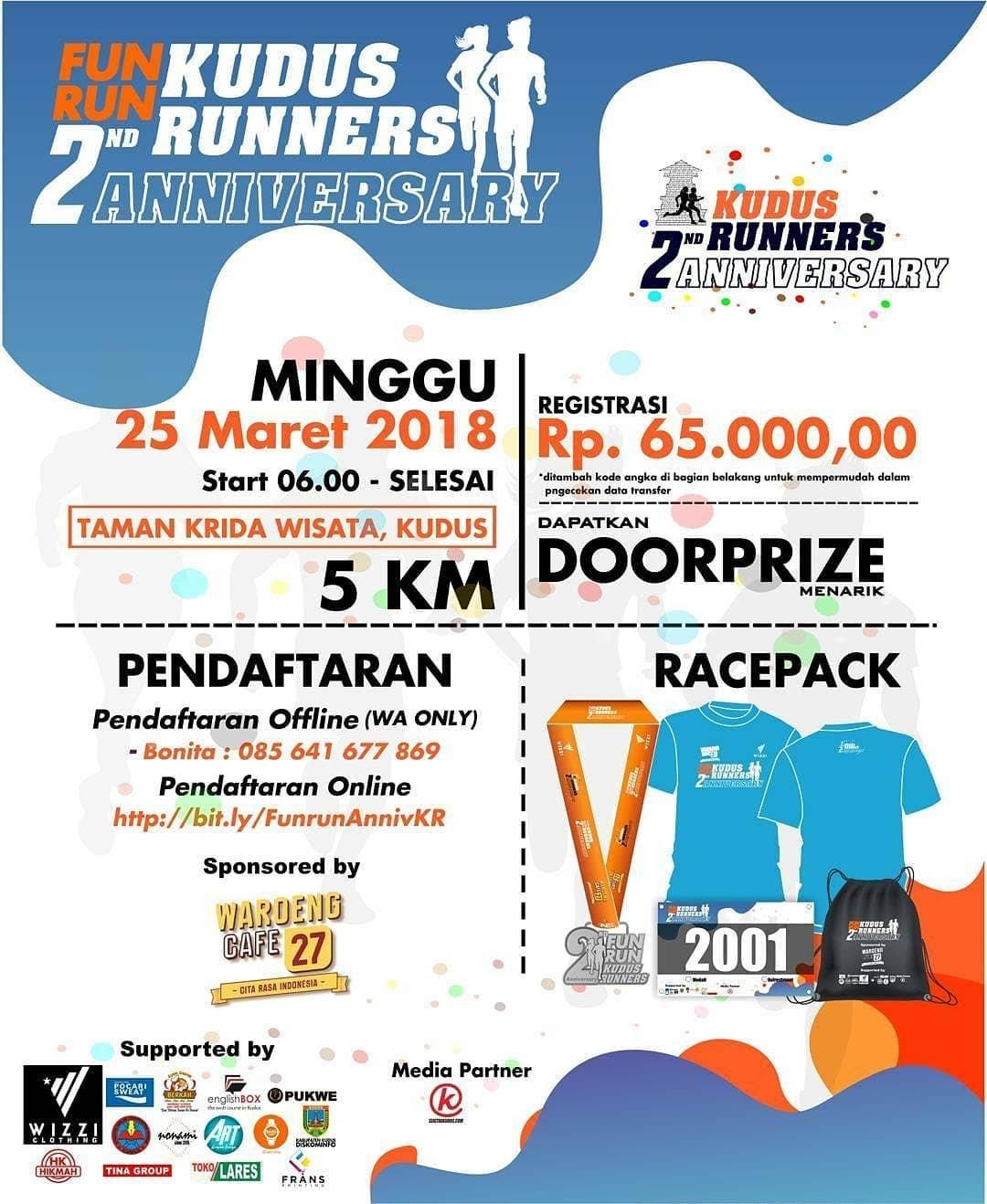 Event Kudus - Funrun 2nd Anniversary Kudus Runners