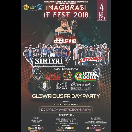 Event Kudus - Inagurasi It Fest 2018