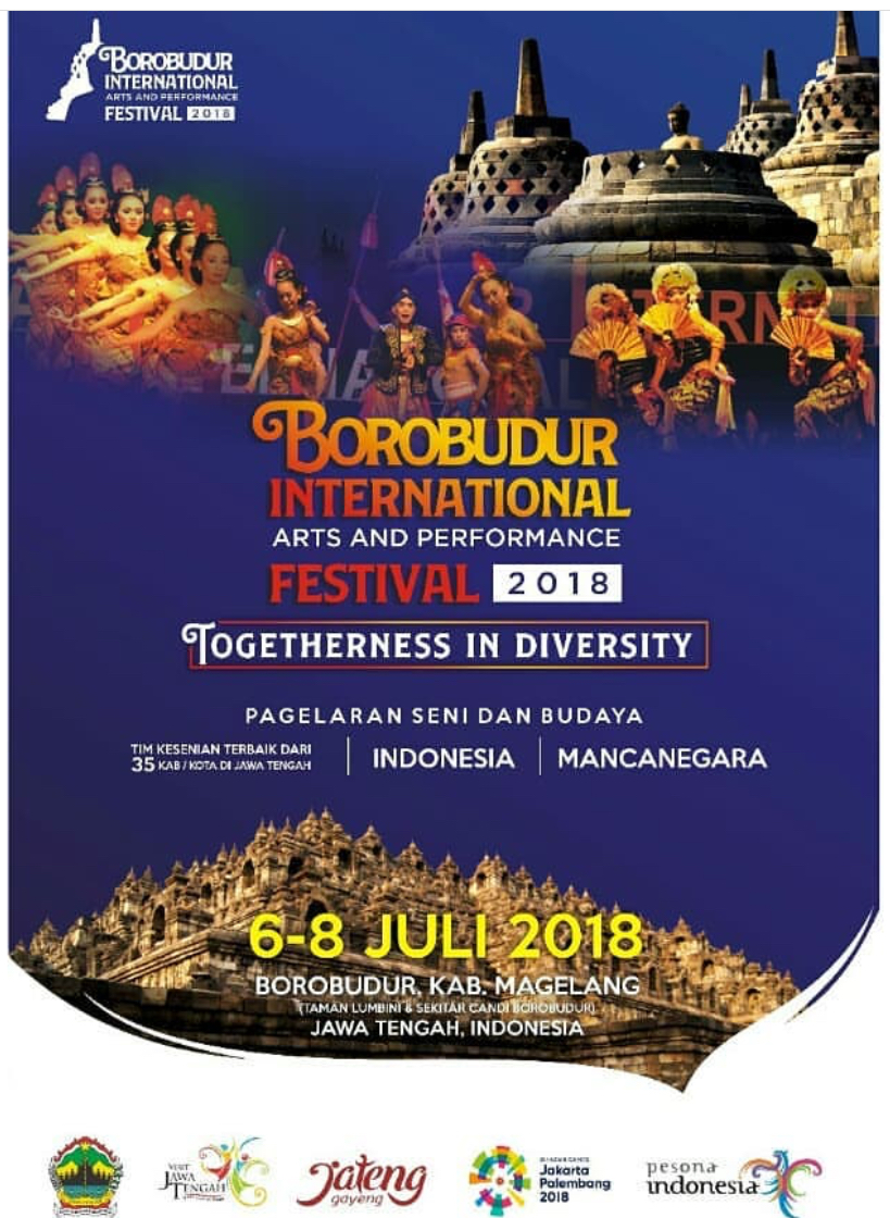 Event Magelang - Borobudur International Art And Perfomance Festival 2018