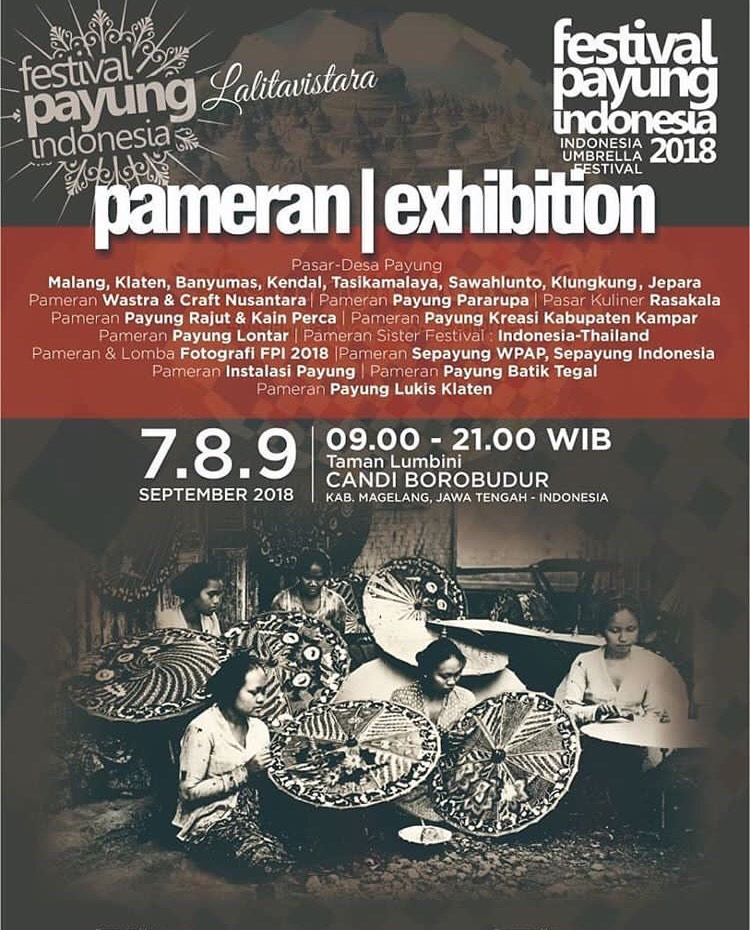 EVENT MAGELANG - FESTIVAL PAYUNG INDONESIA