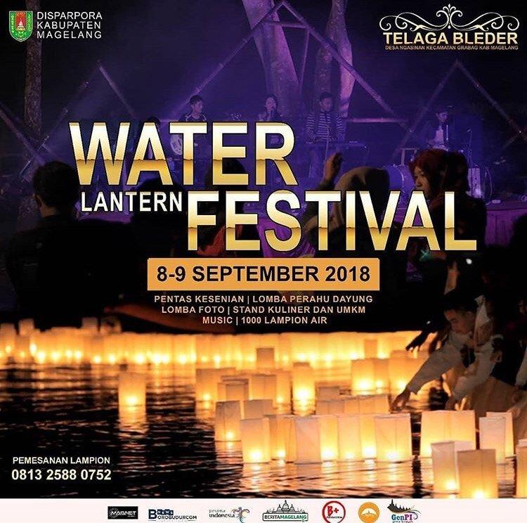 Event Magelang - Festival Telaga Bleder 2018