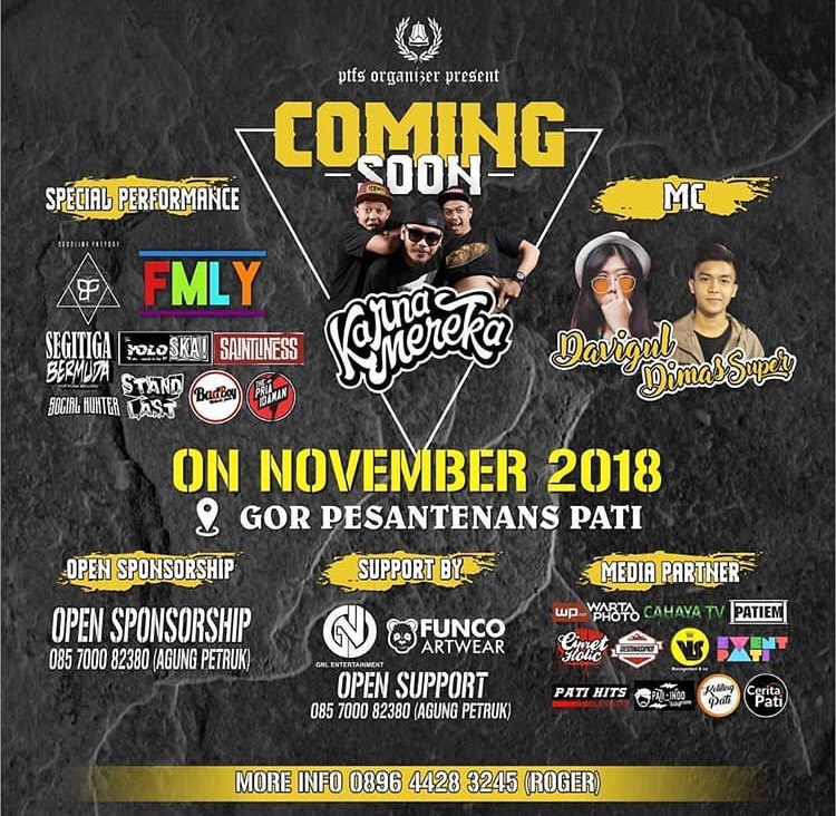 Event Pati - Comingsoon