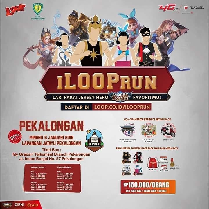 EVENT PEKALONGAN - ILOOP RUN
