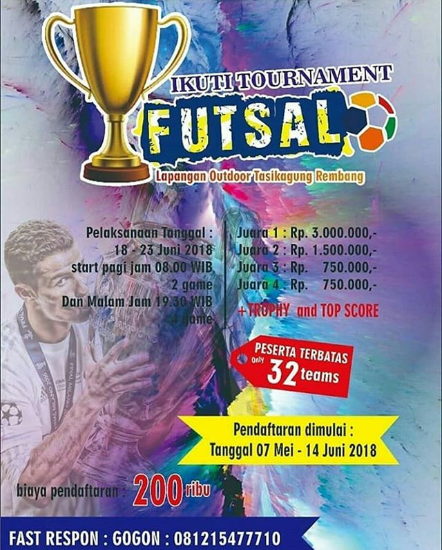 Event Rembang - Tournament Futsal