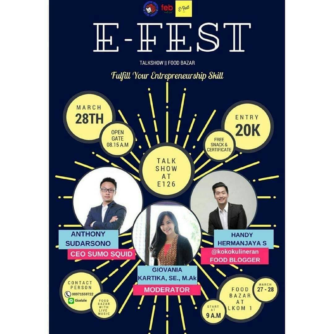EVENT SALATIGA - E-FEST