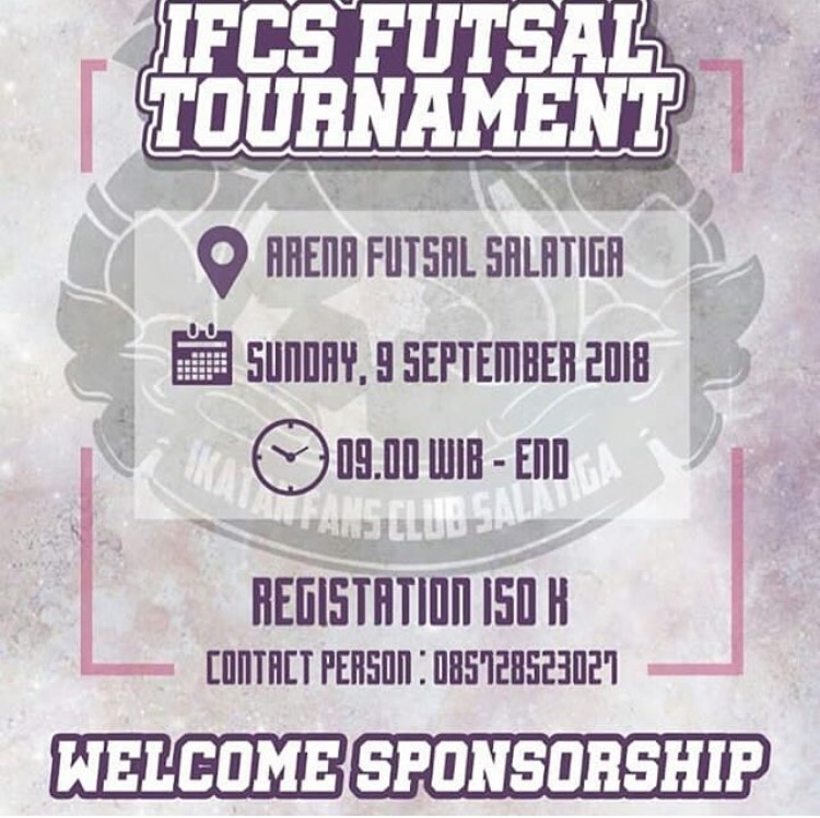 EVENT SALATIGA - IFCS FUTSAL TOURNAMENT