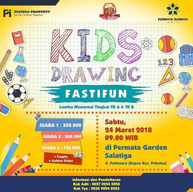 Event Salatiga - Kids Drawing Fastifun