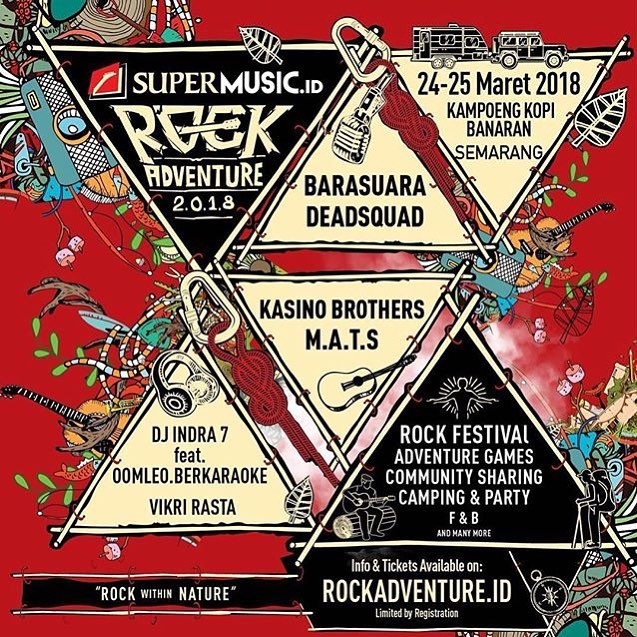 EVENT SALATIGA - ROCK ADVENTURE 2018