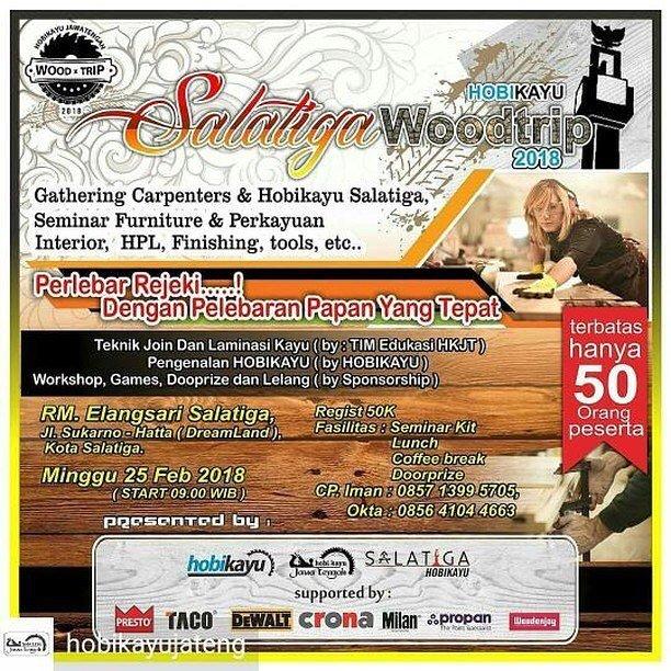 EVENT SALATIGA - SALATIGA WOODTRIP 2018