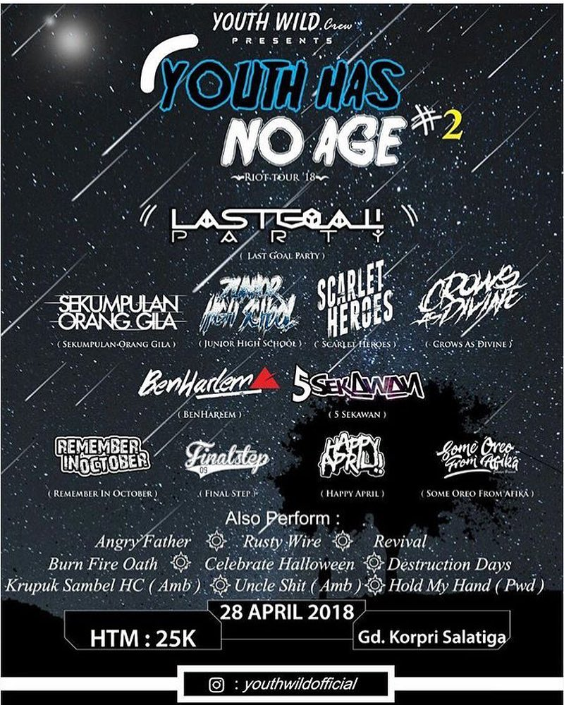 Event Salatiga - Youth Has No Age 2