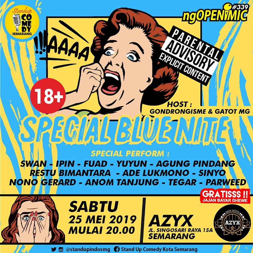 Event Semarang :  Special Blue Night