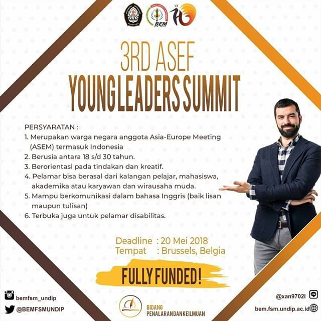 EVENT SEMARANG - 3RD ASEF YOUNG LEADERS SUMMIT