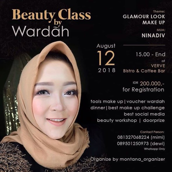 EVENT SEMARANG - BEAUTY CLASS