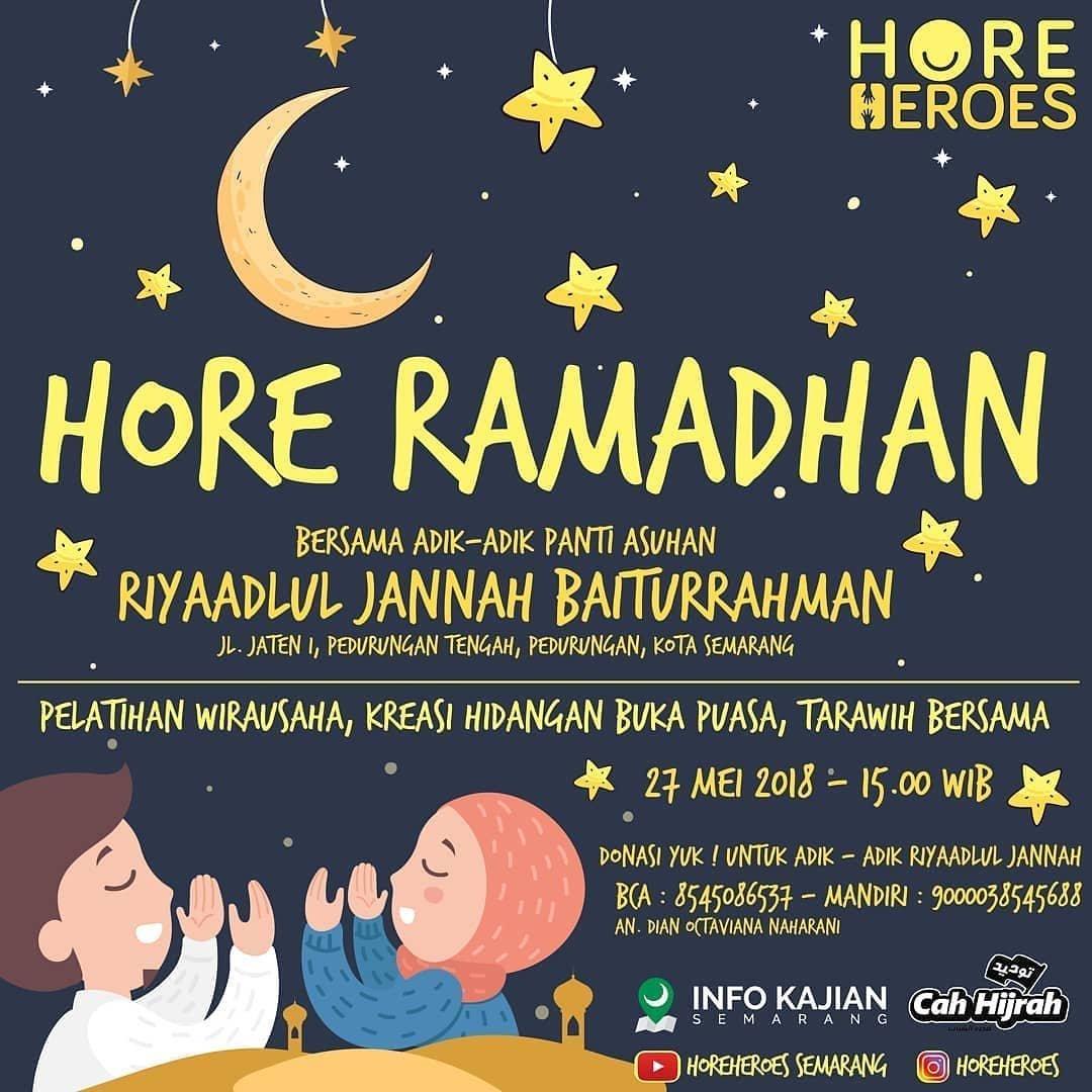 Event Semarang - Hore Ramadhan