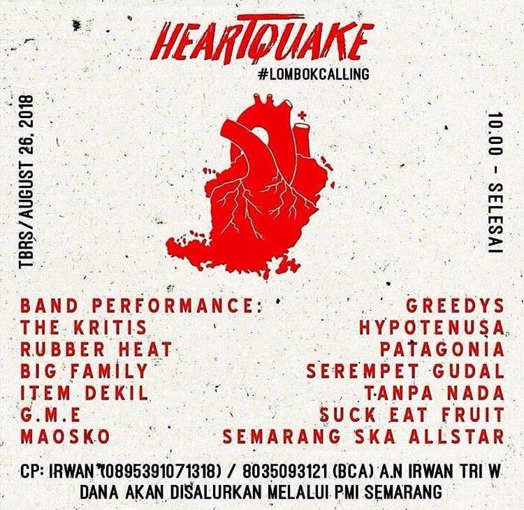 EVENT SEMARANG - HEARTQUAKE