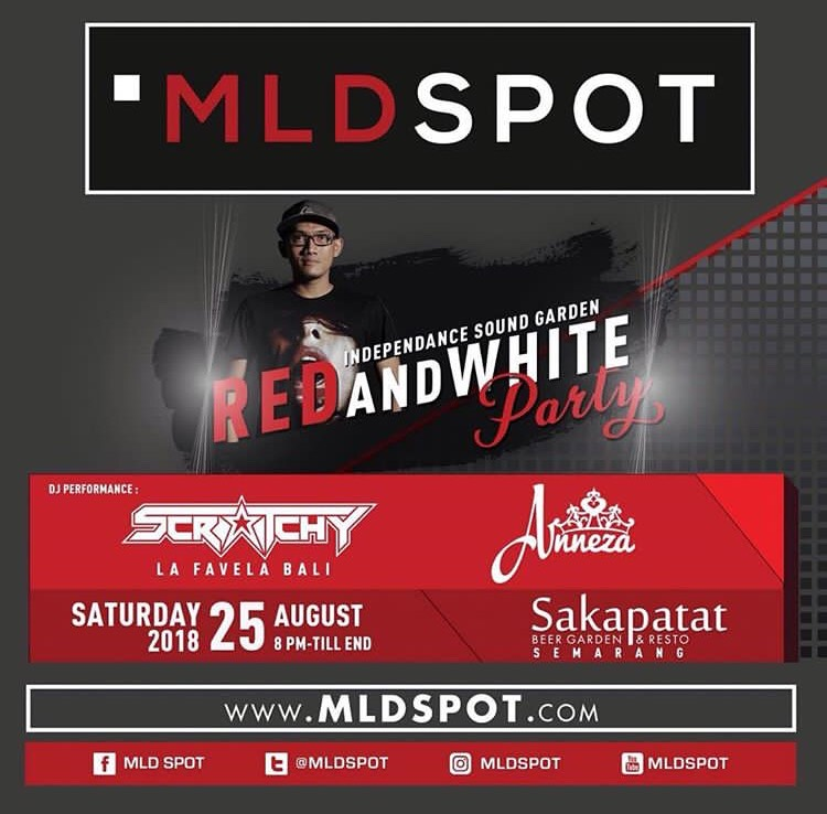 EVENT SEMARANG - INDEPENDANCE SOUND GARDEN - RED AND WHITE PART