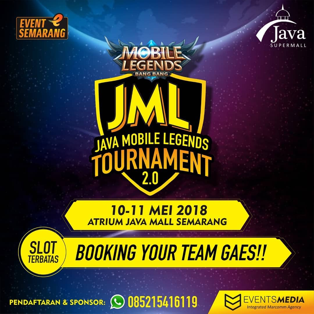 EVENT SEMARANG - JAVA MOBILE LEGENDS TOURNAMENT 2