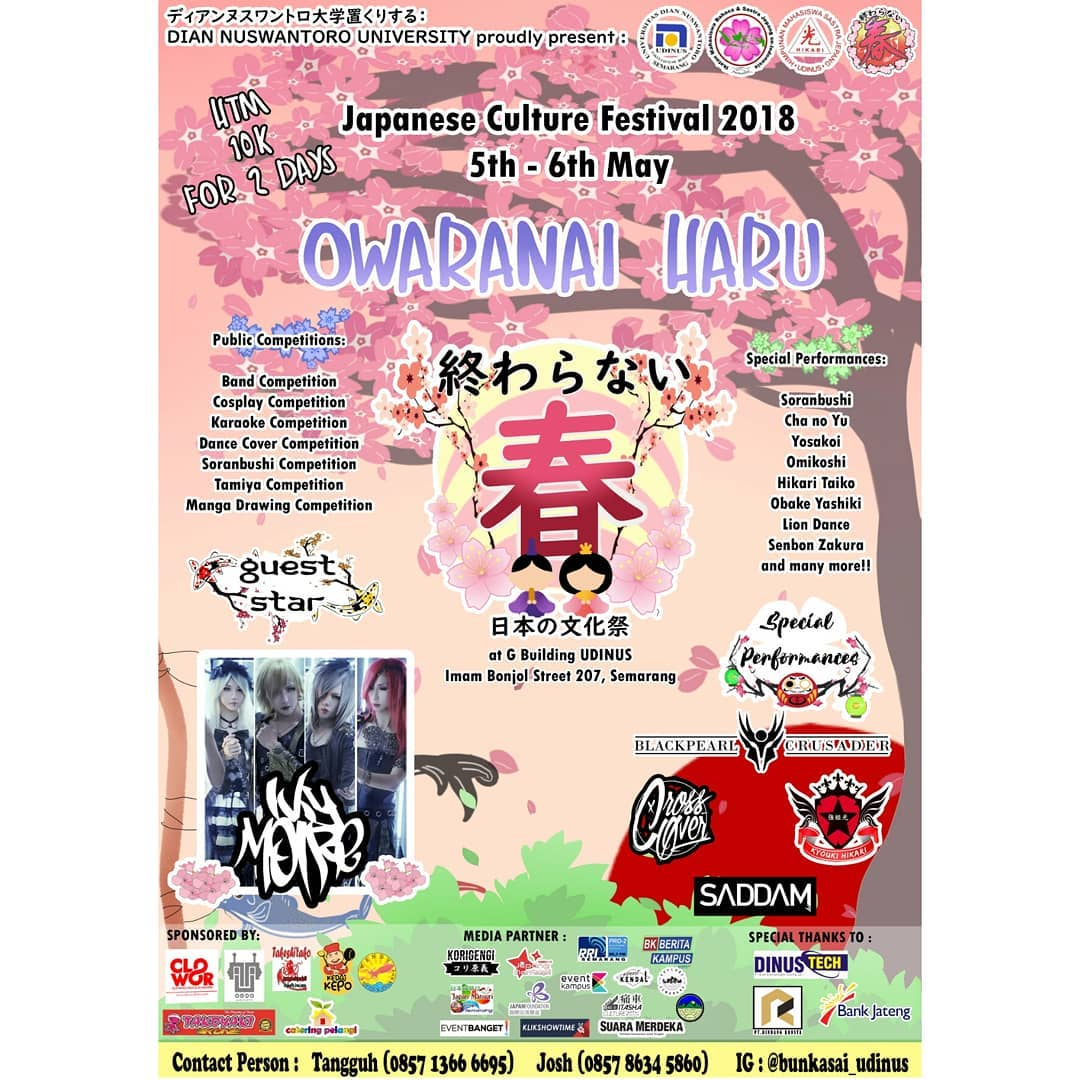 Event Semarang - Japaness Culture Festival 2018