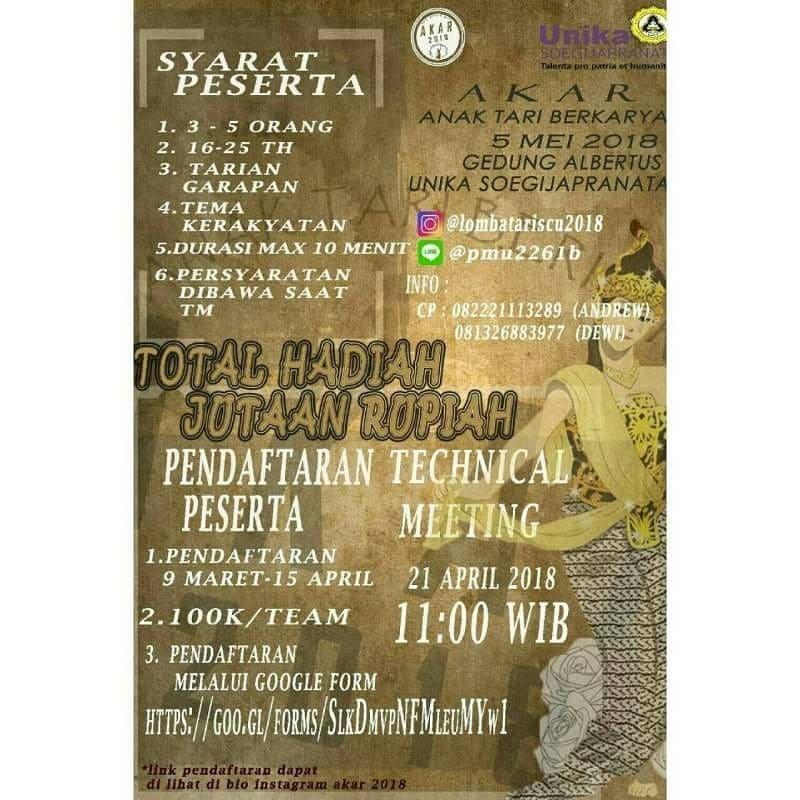 Event Semarang - Lomba Tari Anak Berkarya
