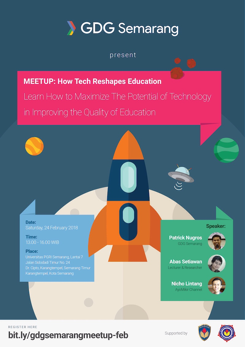 EVENT SEMARANG - MEETUP : HOW TECH RESHAPES EDUCATION