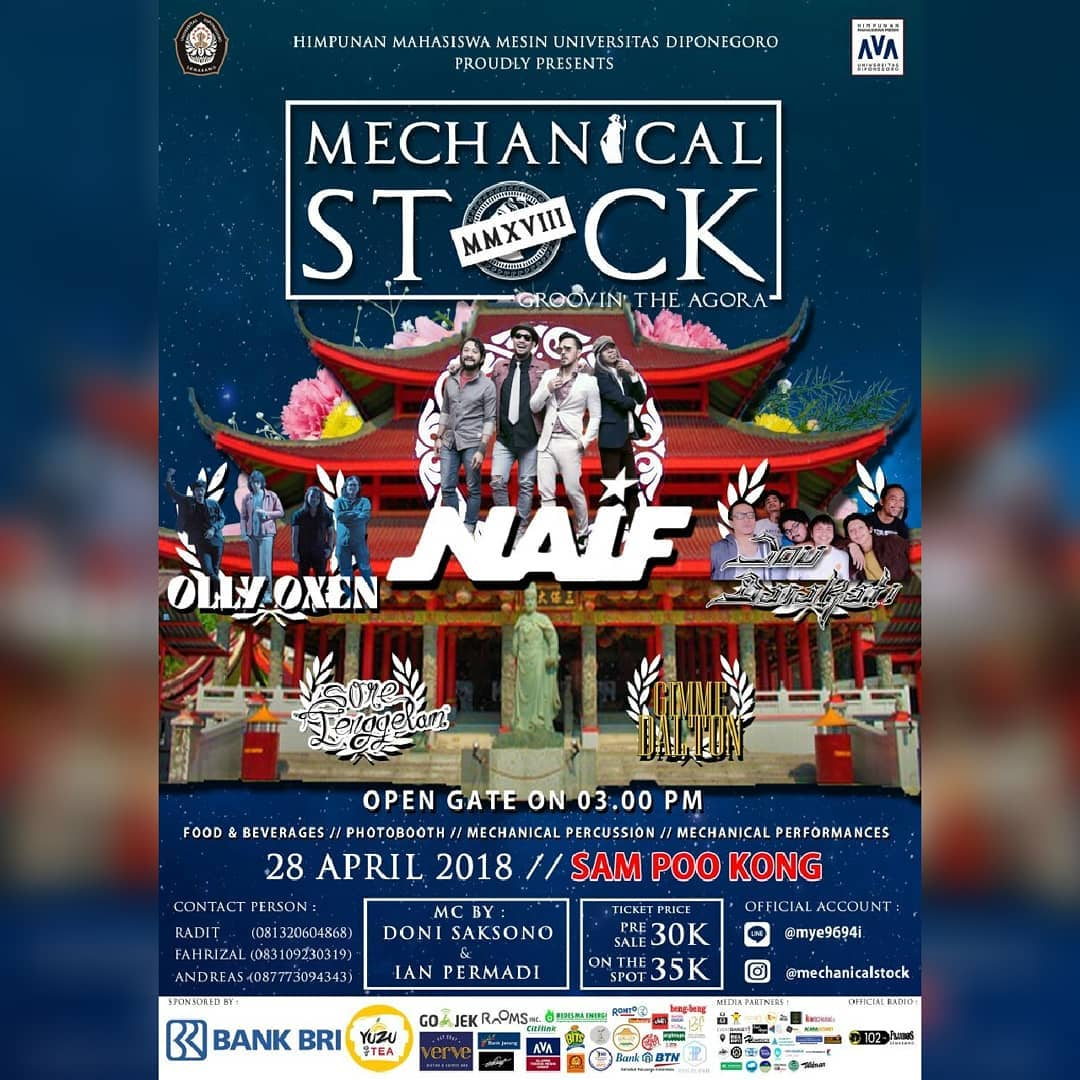 EVENT SEMARANG - MECHANICAL STOCK 2018 GROOVIN THE AGORA