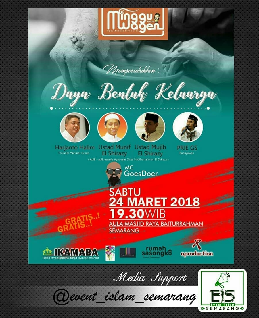 Event Semarang - Ngaji Budaya Minggu Wagen