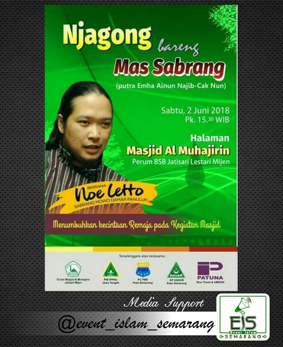 EVENT SEMARANG - NJAGONG BARENG MAS SABRANG NOE LETTO