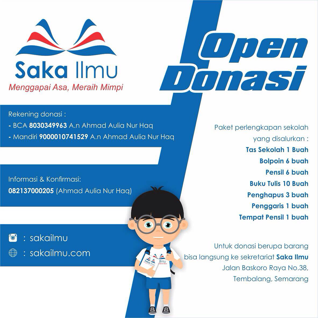 Event Semarang - Open Donasi Dan Recruitment Fasilitator