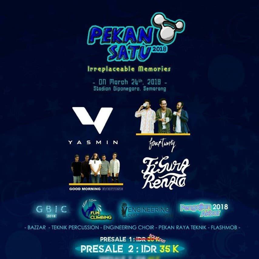 Event Semarang - Pekansatu 2018