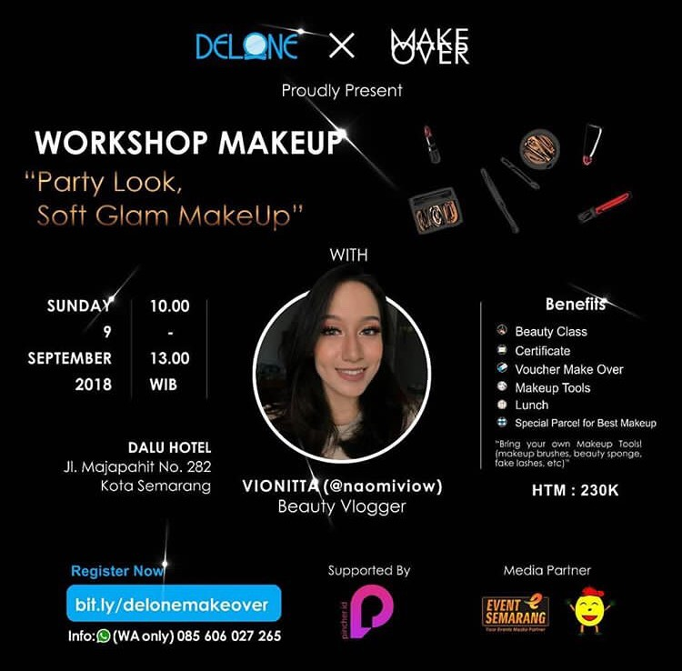Event Semarang - Party Look, Soft Glam Makeup