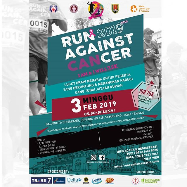Event Semarang - Run Against Cancer 2019