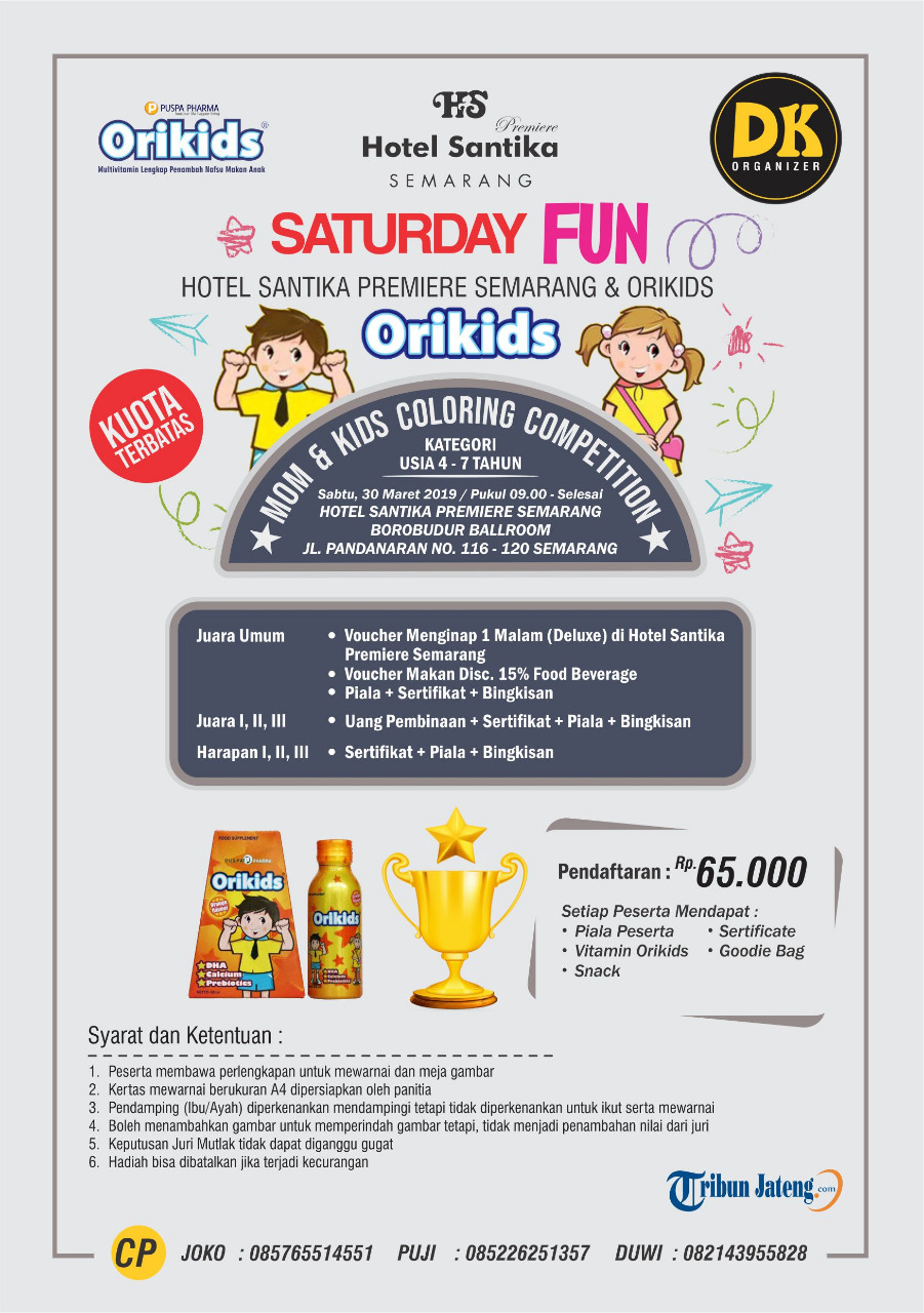 Event Semarang - Saturday Fun  Mom&kids Coloring Competition