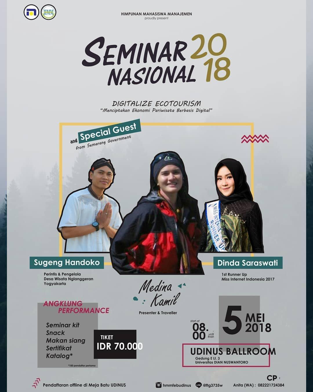 Event Semarang - Seminar Nasional 2018