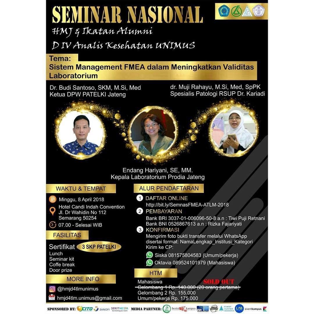 Event Semarang - Seminar Nasional Kesehatan