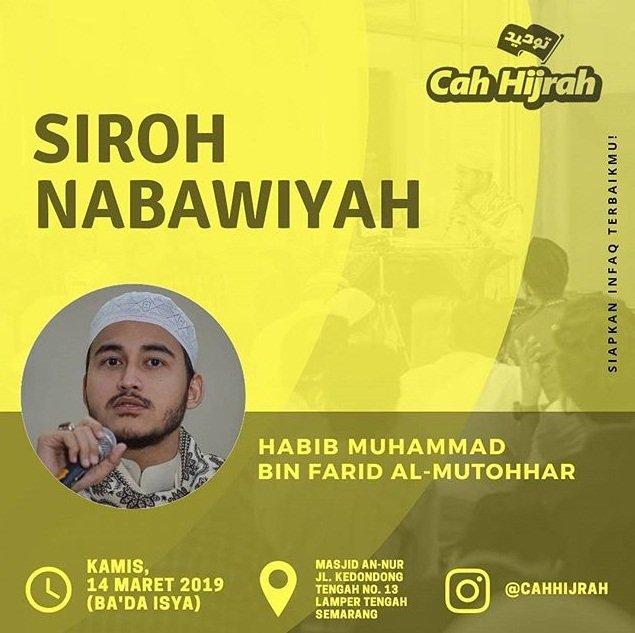 EVENT SEMARANG - SIROH NABAWIYAH