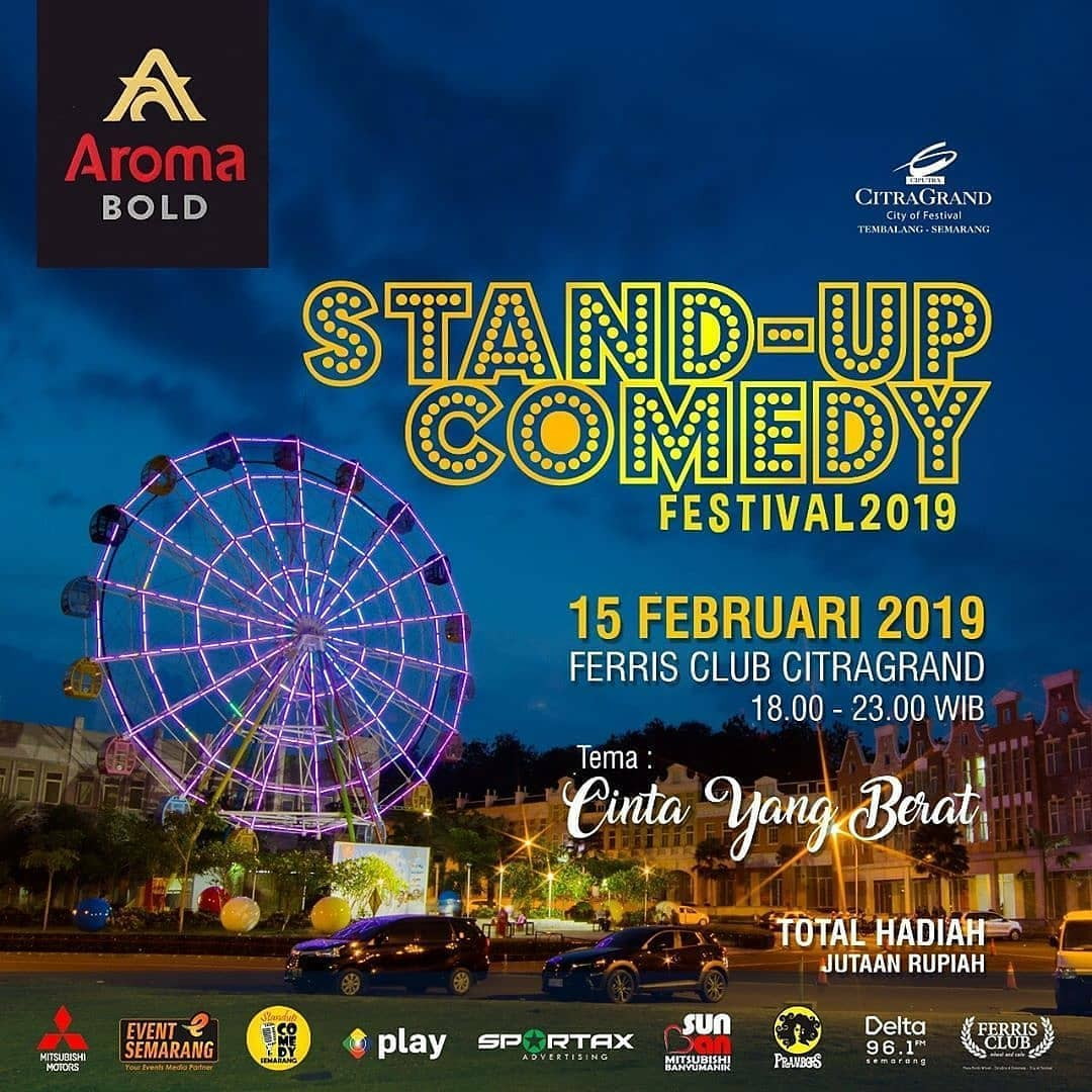 EVENT SEMARANG - STAND-UP COMEDY FESTIVAL 2019
